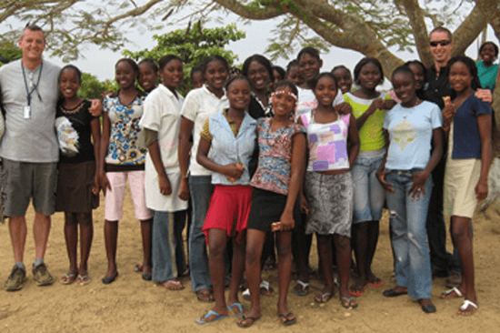 Students in the Malembo Orphanage